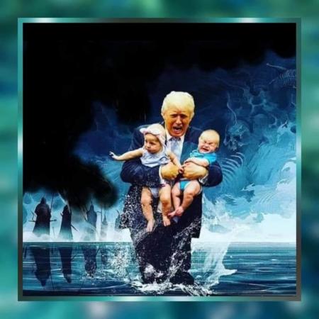 ВОССТАНОВЛЕННАЯ РЕСПУБЛИКА ЧЕРЕЗ GCR ОТ 9 ЯНВАРЯ 2021 ГОДА Trump252C2Bbabies252C2BCabal-450x450